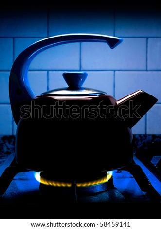 Tisane or tea on fire