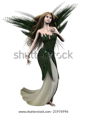 Titania, Queen of the Fairies, from Shakespeare's A Midsummer Night's Dream