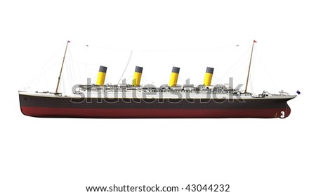 Titanic - stock photo