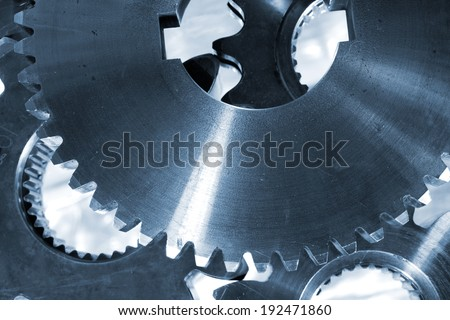 titanium gears and cogs used in the Aerospace industry