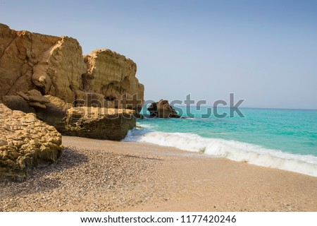 Tiwi beach, oman
