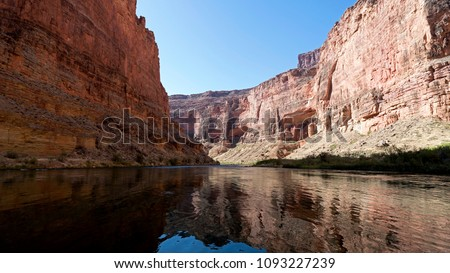 To get real down and close to Grand Canyon you need to either raft on Colorado River or hike in it, ideally both. The views are stupendous and create a sensory overload. #1093227239