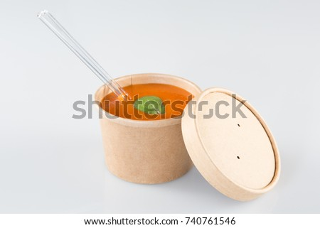 to go Tomato soup take away #740761546