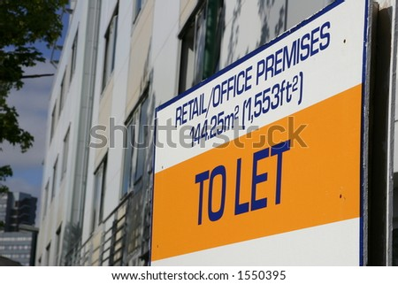To Let Sign