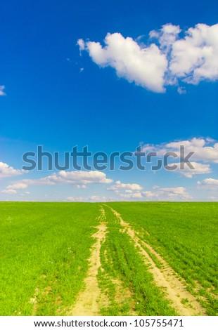 To Pradise Road Through the Green