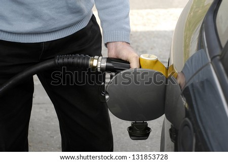 to refuel before falling out of fuel