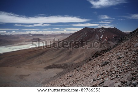 To the summit of Licancabur