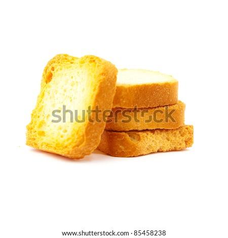 toast bread - stock photo