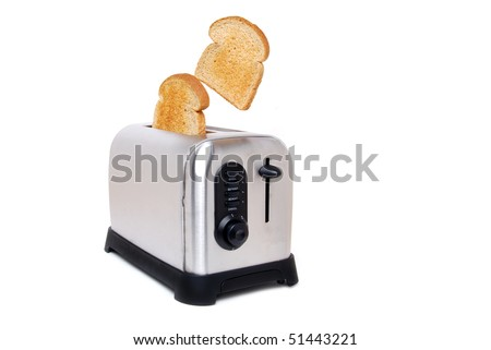 toast in a toaster