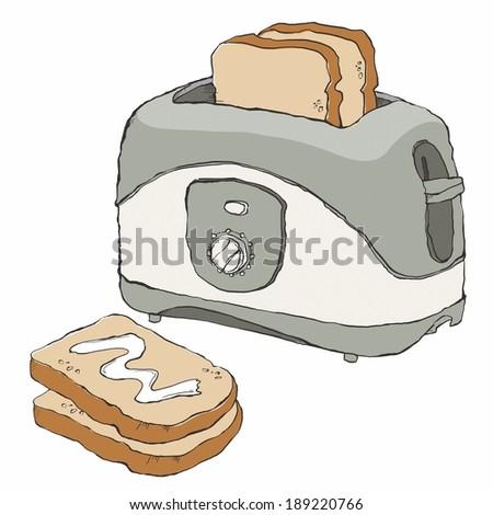 Toast Maker Stock photo ©