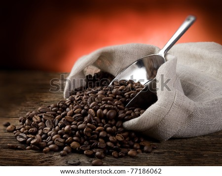 toasted coffee beans