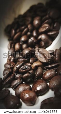 Toasted coffee grain.  #1146061373