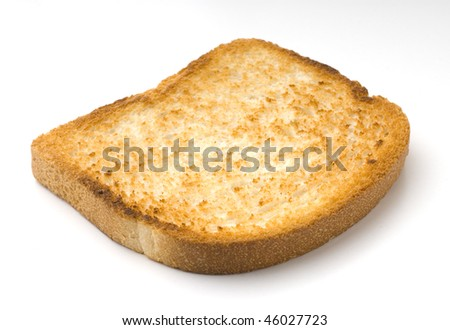 toasted sliced bread