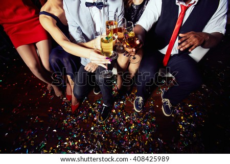 Toasting after party #408425989