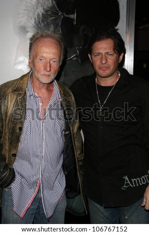 Tobin Bell and Costas Mandylor  at the Los Angeles Special Screening of 'Saw V'. Mann's Chinese Six, Hollywood, CA. 10-21-08