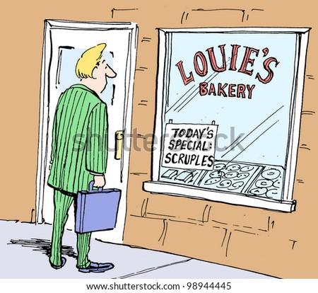 today's special at the bakery is scruples