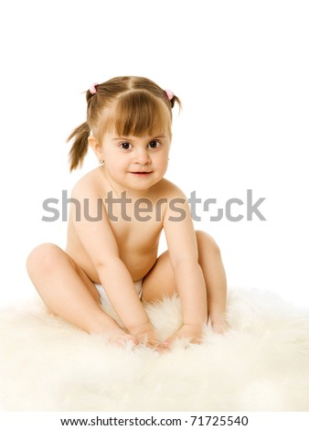 Toddlers Wearing Diapers http://www.shutterstock.com/pic-71725540/stock-photo-toddler-girl-sitting-wearing-diaper-isolated-on-white.html