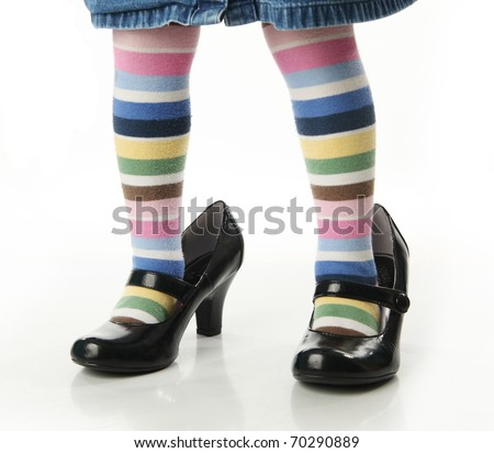 Colored Striped Tights Colored Striped Tights