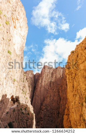 Todra gorges in Morocco #1266634252