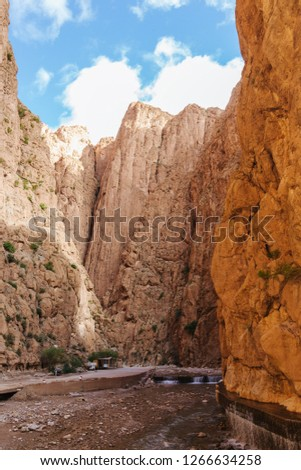 Todra gorges in Morocco #1266634258