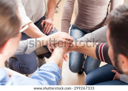 Togetherness, Human Hand, Assistance. #299267333