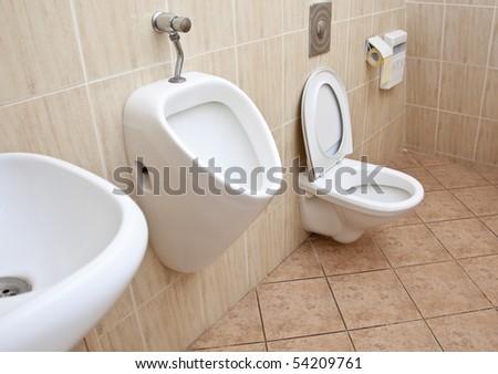 Toilet in office