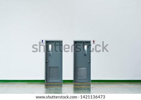 Toilet Indoor in the office #1421136473