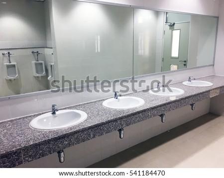 Pee in public images for Public bathroom sink