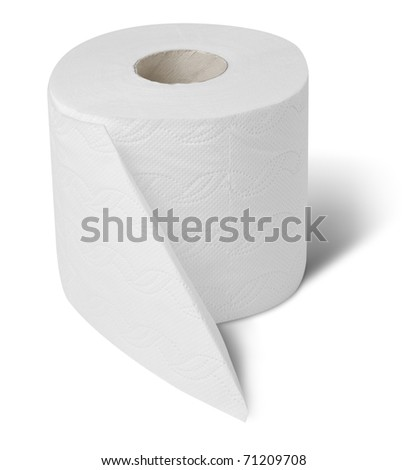 Toilet wc paper roll