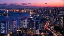 Tokyo bayarea nightscape
