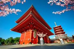 Tokyo City - Sensoji-ji Temple - Asakusa district, Japan, Asia