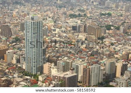Tokyo's cityscape