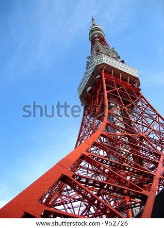 Tokyo Tower at Tokyo, Japan
