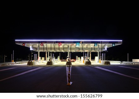 Toll Plaza, Biokovo Croatia
