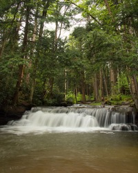 Tolliver Falls at Swallow Falls State Park