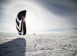 Tolyatti, Russia  - February 5-8: All-Russian competition for snowkiting 'Marathon Zhigulevskoye Sea 2015'