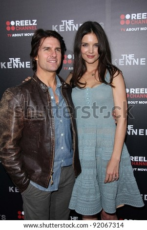 "Tom Cruise and Katie Holmes at the ""Kennedys"" World Premiere, Academy of Motion Picture Arts and Sciences, Bevrly Hills, CA. 03-28-11"