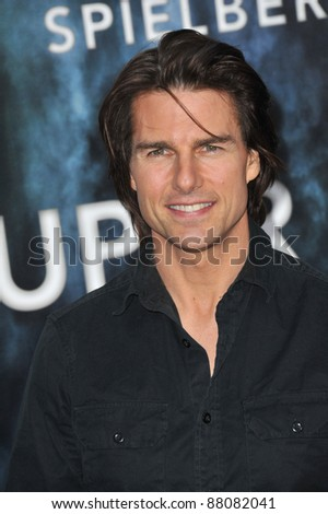 """Tom Cruise at the Los Angeles premiere of """"Super 8"""" at the Regency Village Theatre, Westwood. June 8, 2011  Los Angeles, CA Picture: Paul Smith / Featureflash"""