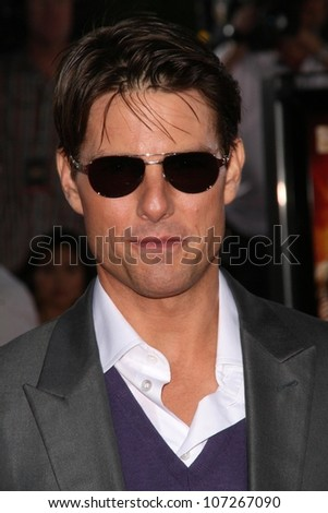Tom Cruise  at the Los Angeles Premiere of 'Tropic Thunder'. Mann's Village Theater, Westwood, CA. 08-11-08