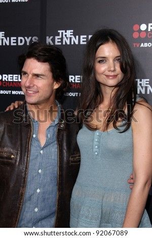"Tom Cruise, Katie Holmes  at the ""Kennedys"" World Premiere, Academy of Motion Picture Arts and Sciences, Bevrly Hills, CA. 03-28-11"
