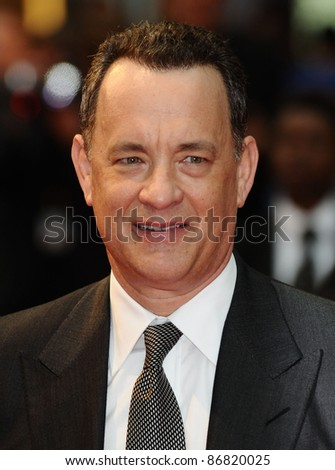 "Tom Hanks arrives for the ""Larry Crowne"" premiere at Westfield, Shepherd's Bush, London. 06/06/2011  Picture by: Alexandra Glen / Featureflash"