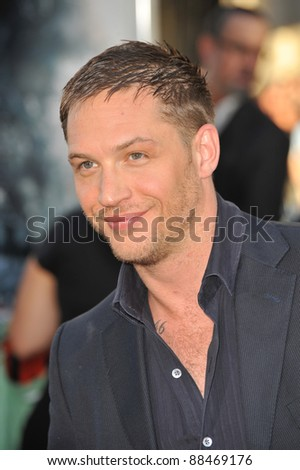 "Tom Hardy at the Los Angeles premiere of his new movie ""Inception"" at Grauman's Chinese Theatre, Hollywood. July 13, 2010  Los Angeles, CA Picture: Paul Smith / Featureflash"