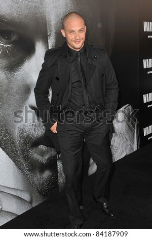 "Tom Hardy at the world premiere of his new movie ""Warrior"" at the Arclight Theatre, Hollywood. September 6, 2011  Los Angeles, CA Picture: Paul Smith / Featureflash"