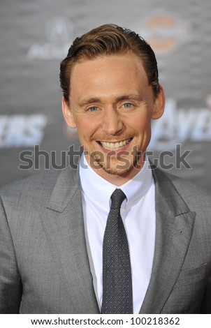 "Tom Hiddleston at the world premiere of his new movie ""Marvel's The Avengers"" at the El Capitan Theatre, Hollywood. April 11, 2012  Los Angeles, CA Picture: Paul Smith / Featureflash"