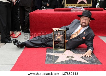 Tom Kelly at the Tom Kelly Star on the Hollywood Walk of Fame, Hollywood, CA 04-30-13