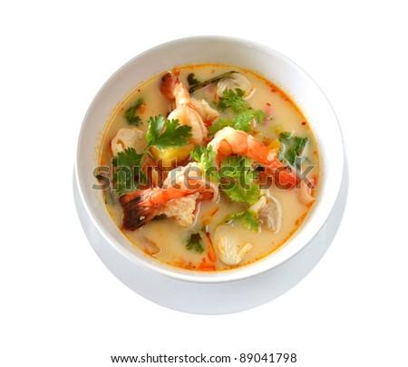 Tom Yum  is favorite Thai Food