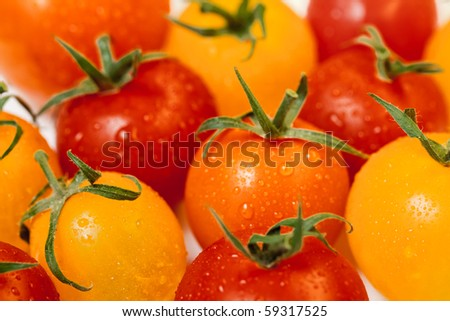 tomato cherry background