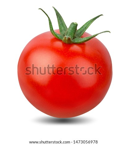 Tomato isolated on white background with clipping path #1473056978