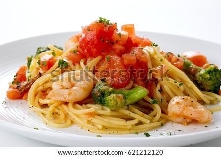 Photo of Tomato sauce pasta