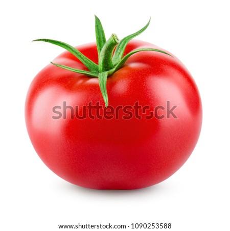 tomato. tomato isolated. #1090253588